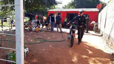 Fuerte ofensiva de la SENAD y la Policía Nacional en Itá