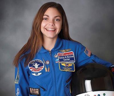 Alyssa Carson, la joven astronauta que busca colonizar marte