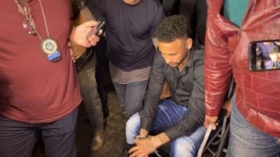 Neymar se presentó a declarar