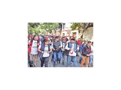 Esteños pidieron      la libertad  del diputado Ulises Quintana