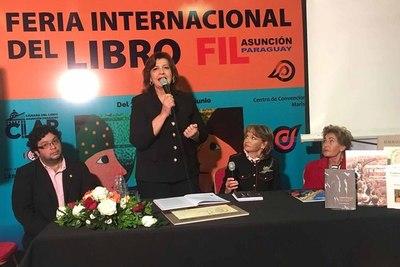 El Cabildo presentó cinco libros durante la FIL 2019