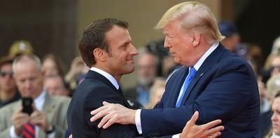 """Donald dice que la relación con Macron es """"excepcional"""""""