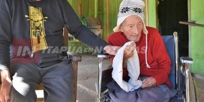 NIEGAN AYUDA A EXCOMBATIENTE DE 102 AÑOS