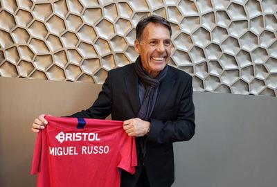 Cerro Porteño presentó a Miguel Ángel Russo como nuevo DT