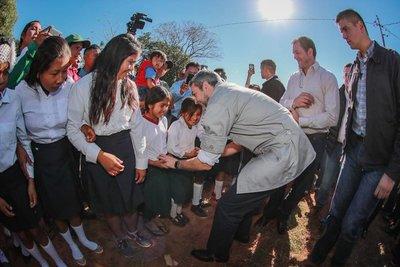 Invierten Gs 2.300 millones en aulas prefabricadas en San Pedro