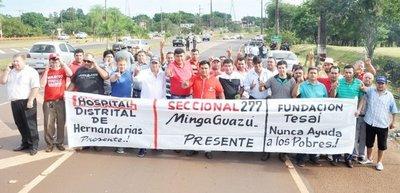 Reclaman zoquetes en Itaipú