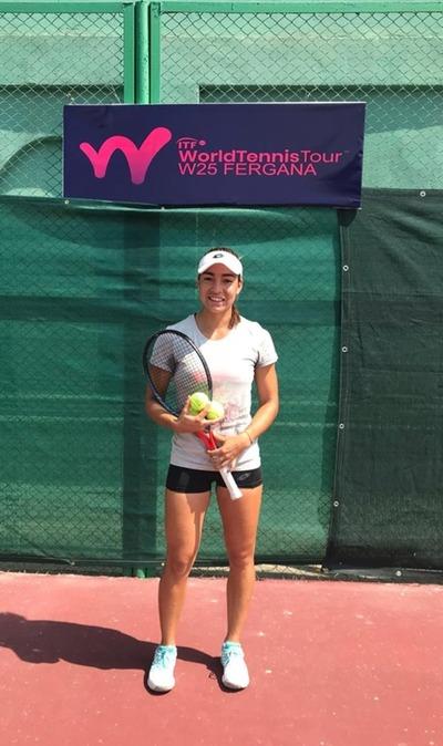 González avanza a semifinales en torneo ITF de Uzbekistán