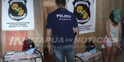 ANTINARCÓTICOS  CORTA CON PUNTO DE MICROTRÁFICO EN CAMBYRETÁ.