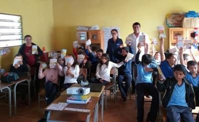 Realizan charlas educativas sobre higiene en escuelas de O´leary