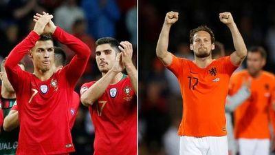 Portugal-Holanda: final de la Liga de las Naciones