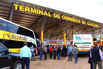 Caazapá inauguró esperado servicio de transporte directo hasta Argentina