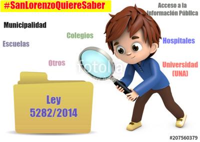 Información pública en San Lorenzo