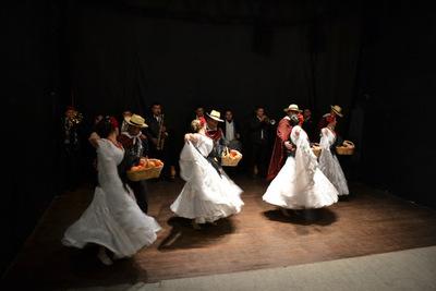 La Banda y el Ballet Folclórico Municipal de Asunción en el Ciclo Asaje Rire