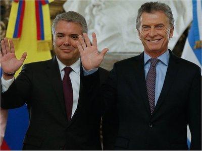 Macri y Duque piden vuelta de democracia a Venezuela