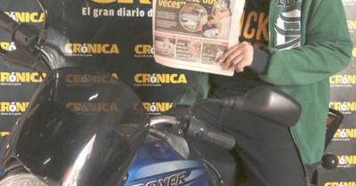 ¡El primer ganador de  la promo Motorizate!