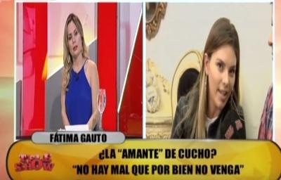 Fátima Gauto y las supuestas visitas a Cucho