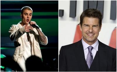 Justin Bieber desafía a Tom Cruise a un combate