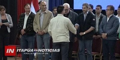 APORTES ECONÓMICOS PARA EL ÁREA DE SALUD Y DE LA PRODUCCIÓN DE ITAPÚA.