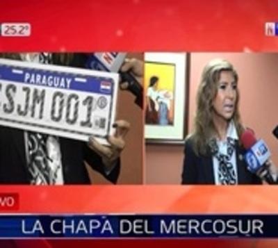 Presentan Chapa Mercosur