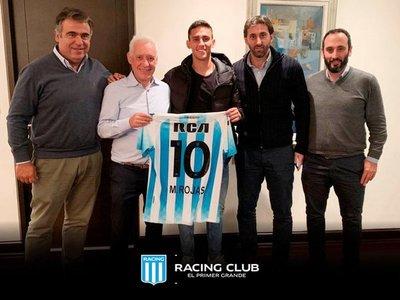 Elcampeón argentino presenta a Matías Rojas