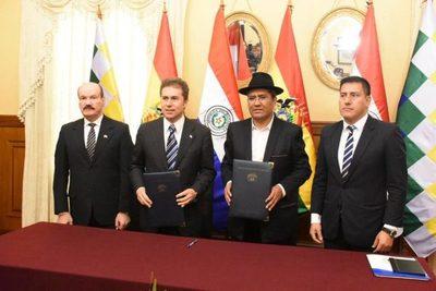 Paraguay y Bolivia cooperarán en defensa contra crimen organizado