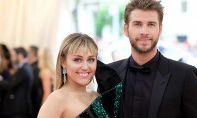 Miley Cyrus celebró su 10° aniversario con Liam Hemsworth, negando los rumores de ruptura