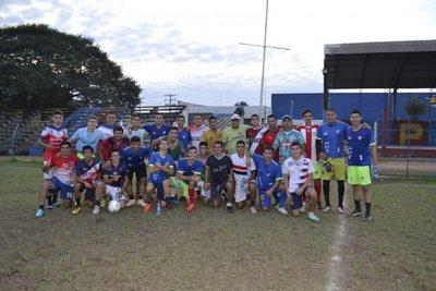 Club 1º Marzo de Pilar practicó en San Antonio