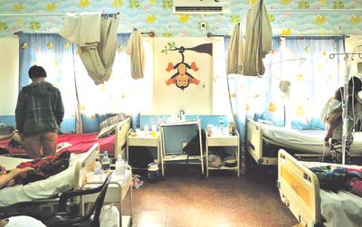 Cerca de 50 niños están internados por infecciones respiratorias en CDE