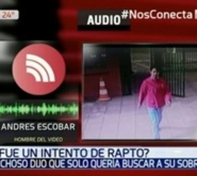 Supuesto intento de rapto: Hombre afirma que se equivocó de colegio