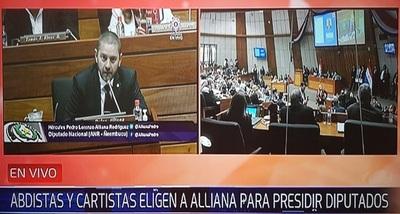 Alliana vuelve a la presidencia de Diputados