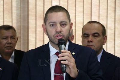 Alliana fue elegido como presidente de Diputados