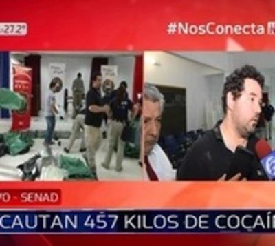 Desbaratan organización narco e incautan más de 400 kilos de cocaína