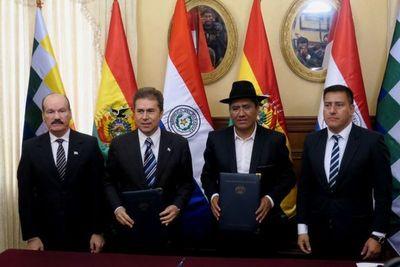 BOLIVIA Y PARAGUAY TRATARÁN HOY SOBRE GAS E HIDROVÍA.