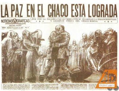 Se recuerda el 84 aniversario de la Paz del Chaco