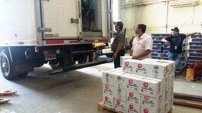 Reciben nueva carga de medicamentos producidos con plasma sanguíneo