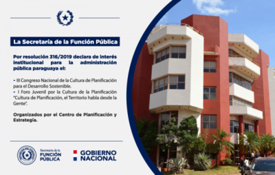 La SFP declara de interés institucional para la administración pública el III Congreso Nacional de la Cultura de la Planificación organizado por el CEPE