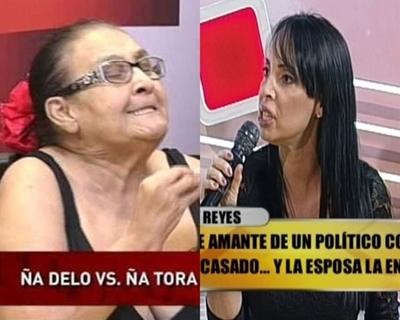 """Shirley Reyes filosa contra """"Ña Delo"""": """"Preocúpate de tus hijos"""""""