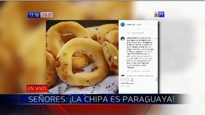 Señores: ¡La chipa es paraguaya!