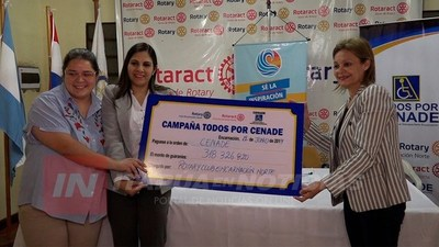 RECORD EN COLECTA ANUAL POR  EL CENADE EN ITAPÚA.