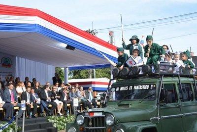 Tradicional desfile se realizó en Fernando