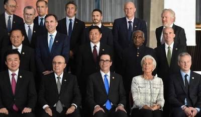 El PIB de los países del G20 creció un 0,8%