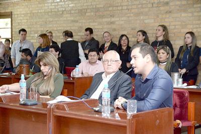Hubo careo entre concejales de CDE y el intendente Miguel Prieto