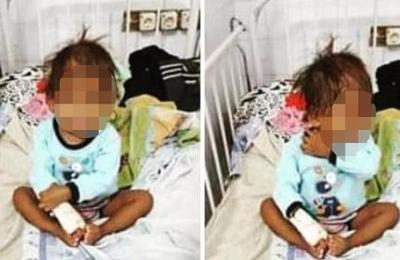 Niño indígena con desnutrición se encuentra internado en Hospital de Barrio Obrero