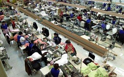 Exportación de maquila por US$ 246 millones
