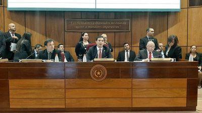 Bancadas cierran filas para apoyar candidatura de Blas Llano a la presidencia del Senado