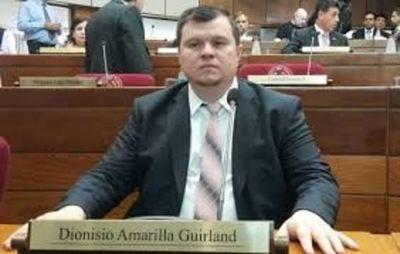 Ex senador Amarilla exhorta a medios de prensa a no publicar datos sobre su familia