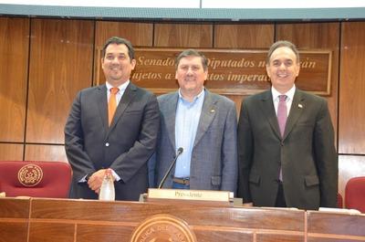 Blas Llano presidirá la Cámara de Senadores para el periodo 2019-2020