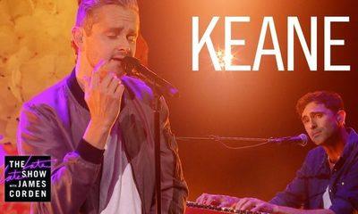 """Mirá la primera presentación en vivo del nuevo single de Keane, """"The Way I Feel"""""""