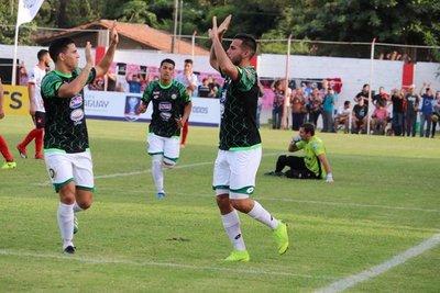 Cuatro goles del equipo albiverde para superar la primera ronda de la Copa Paraguay