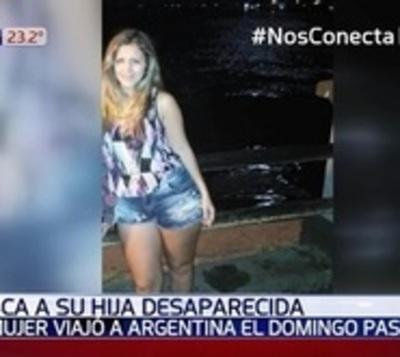 Viajó a Argentina para ver a su hijo y desapareció